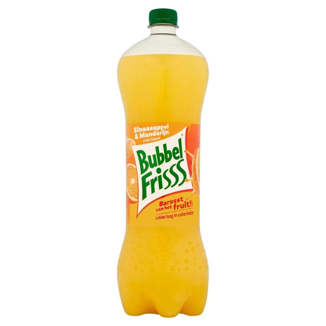 Productafbeelding Dubbelfrisss Bubbelfrisss Sinaasappel-Mandarijn 1,5L PET