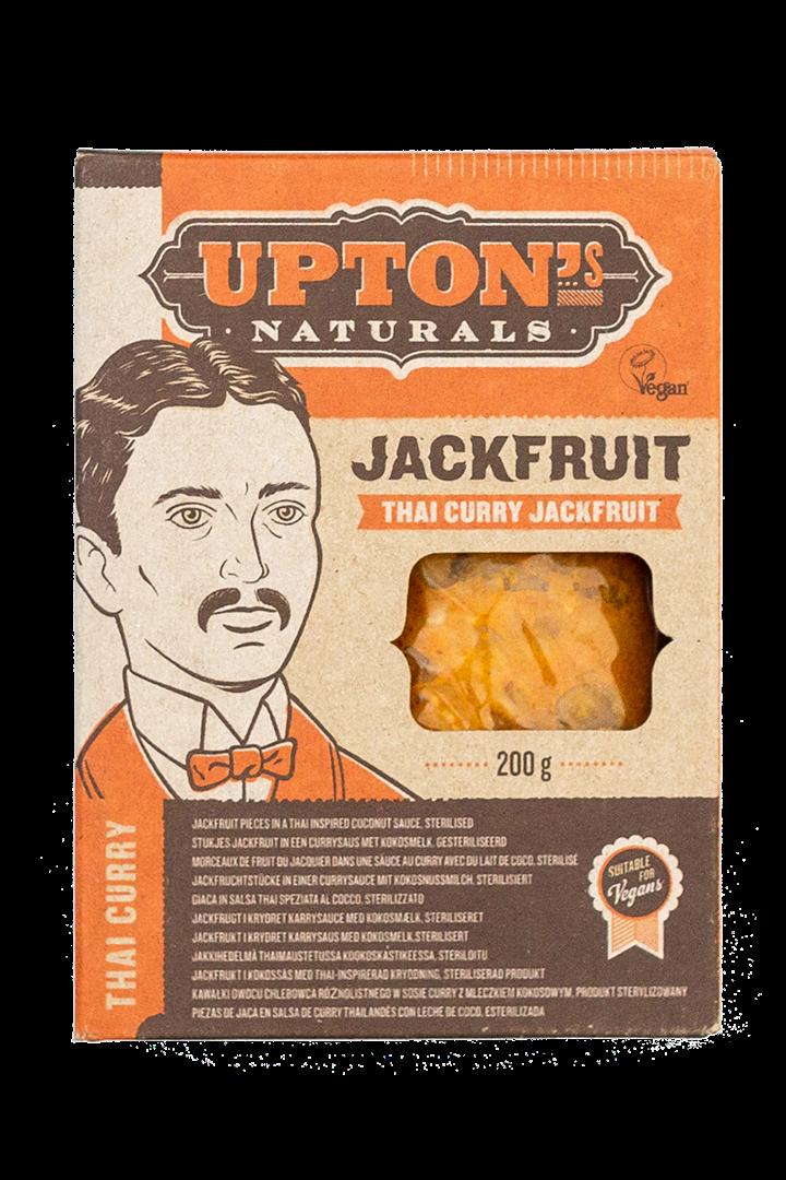 Productafbeelding Upton's naturals jackfruit Thai curry 200g doos
