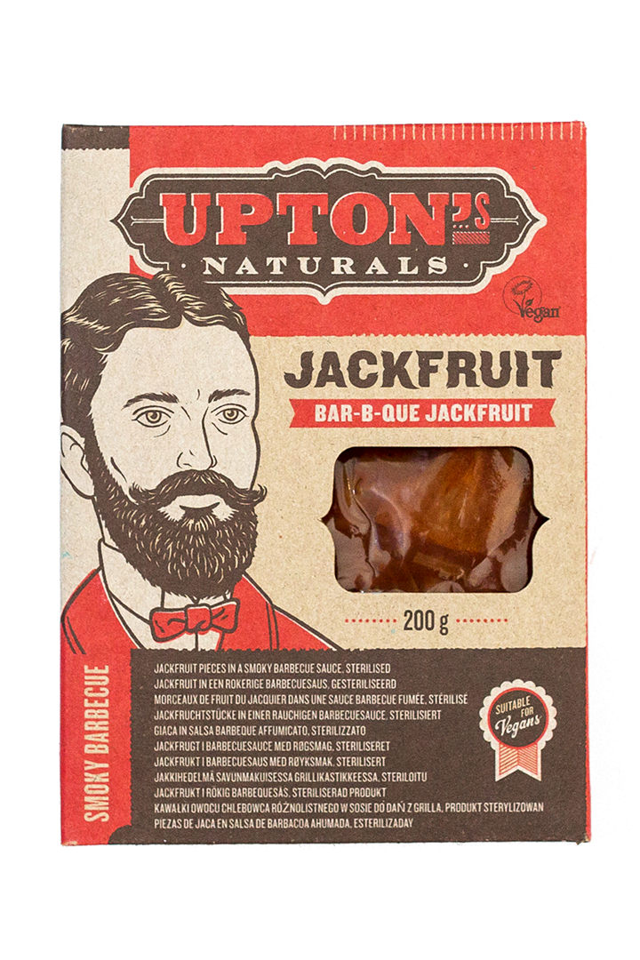 Productafbeelding Upton's naturals jackfruit bar-b-que 200g doos
