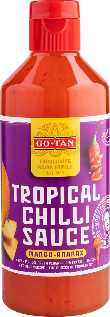 Productafbeelding Go-Tan Chillisaus Mango & Ananas 500ml