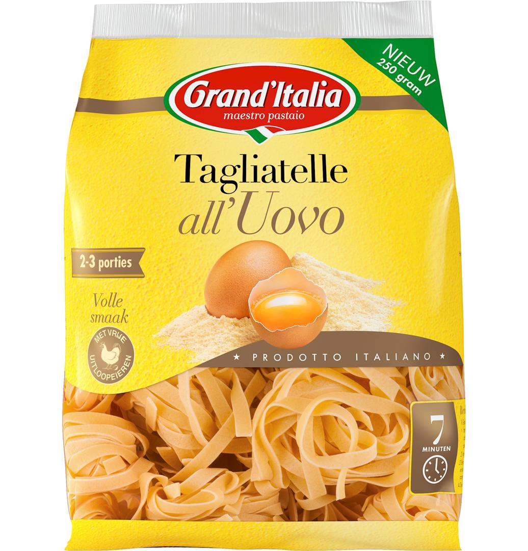 Productafbeelding Grand'Italia Pasta Tagliatelle all'Uovo 250 g Zak