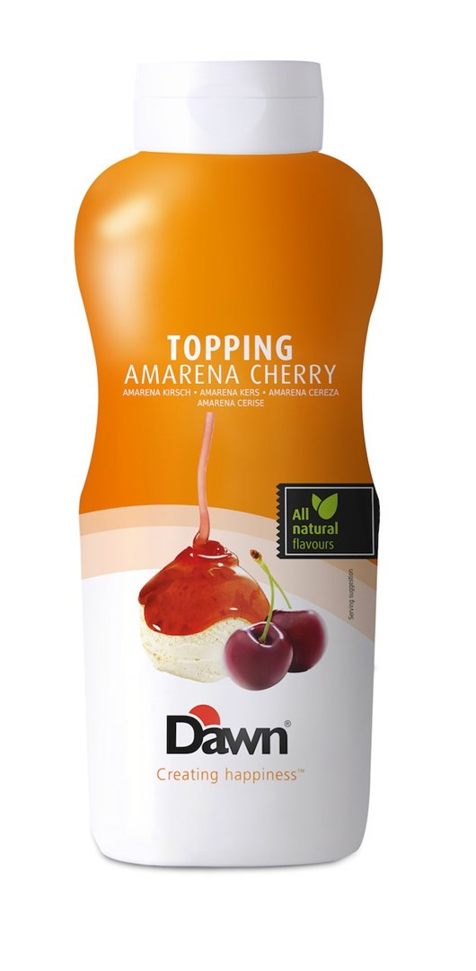 Productafbeelding Dawn Topping Amarena Kers 1 kg fles