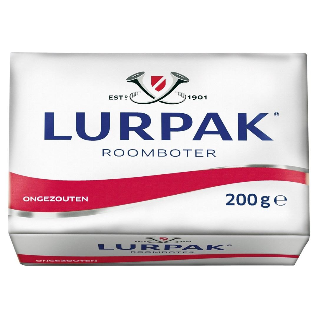 Productafbeelding Lurpak boter ongezouten 200gr