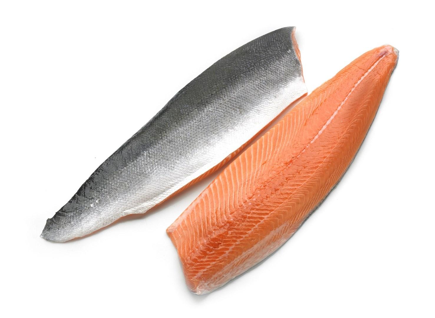 Productafbeelding Zalm Noors 4-5 kg, filet met vel geschubd