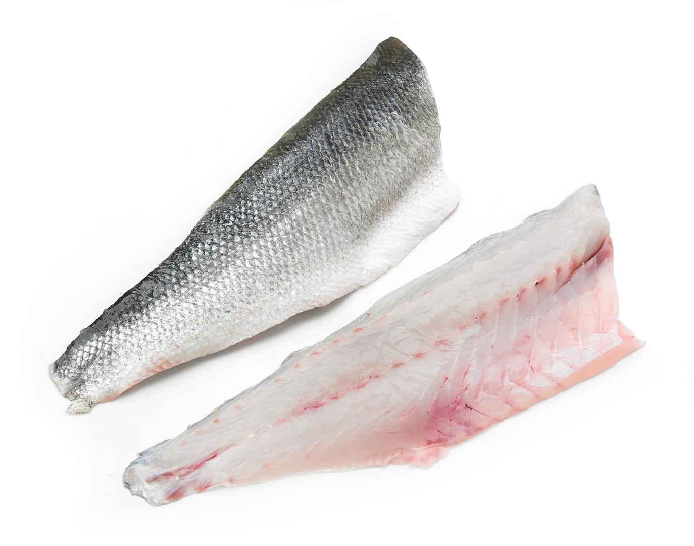 Productafbeelding Zeebaars wild 1-2 kg, filet met vel geschubd