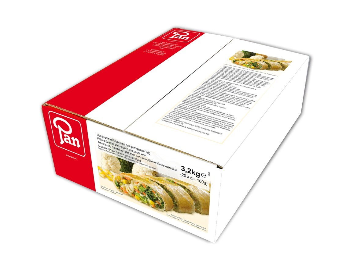 Productafbeelding Groente strudel met mozzarella