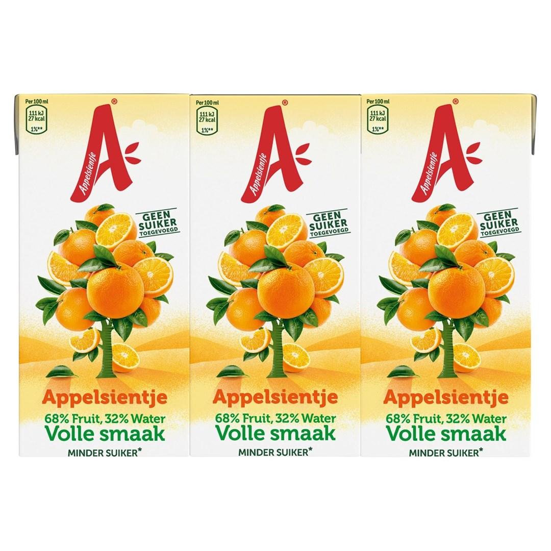 Productafbeelding Appelsientje Sinaasappel Volle Smaak 5 x  6 x 200ml