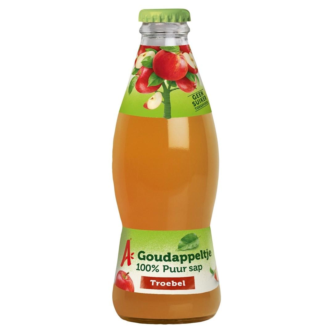Productafbeelding Appelsientje vruchtensap appel troebel 200 ml fles
