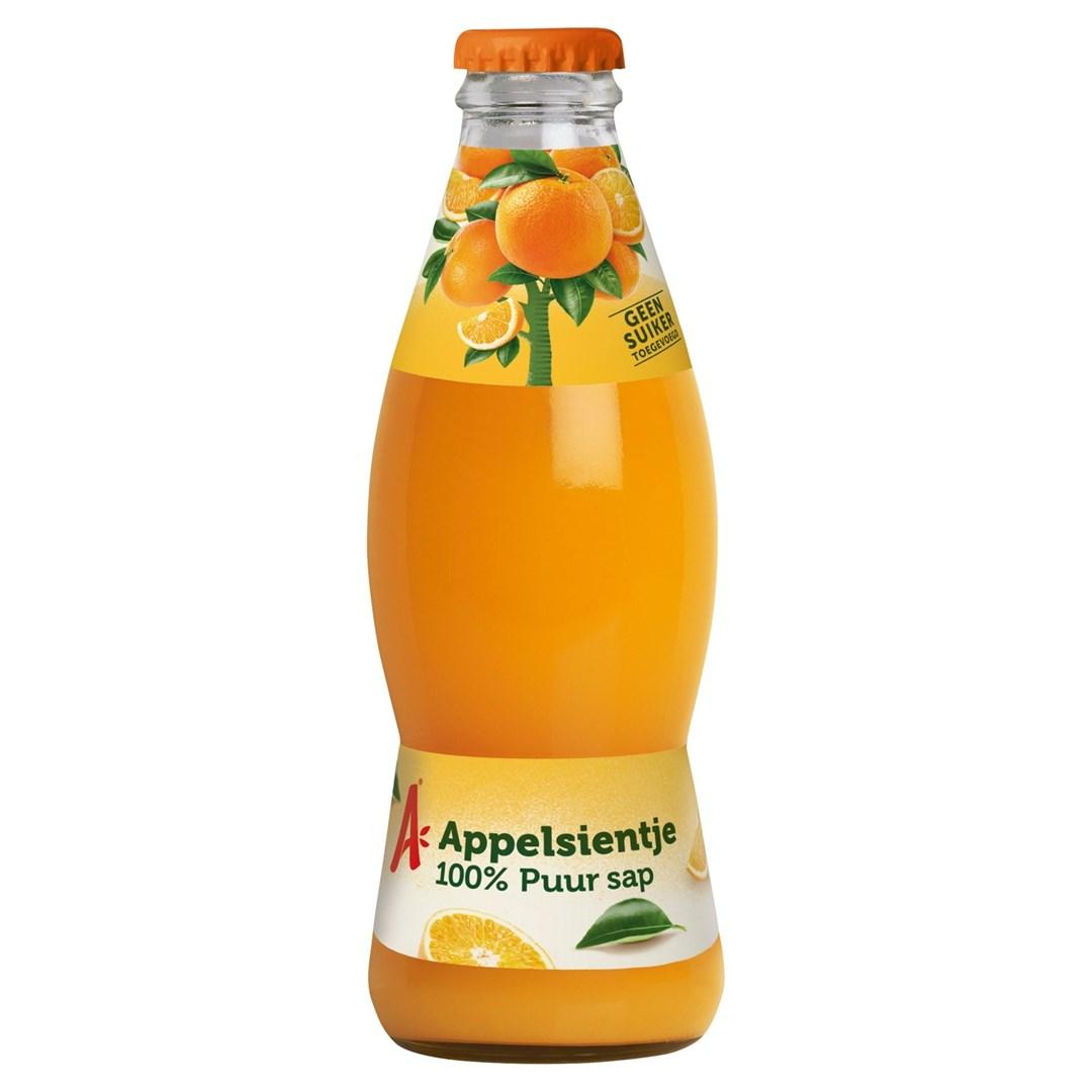 Productafbeelding Appelsientje vruchtensap sinaasappel 200 ml fles