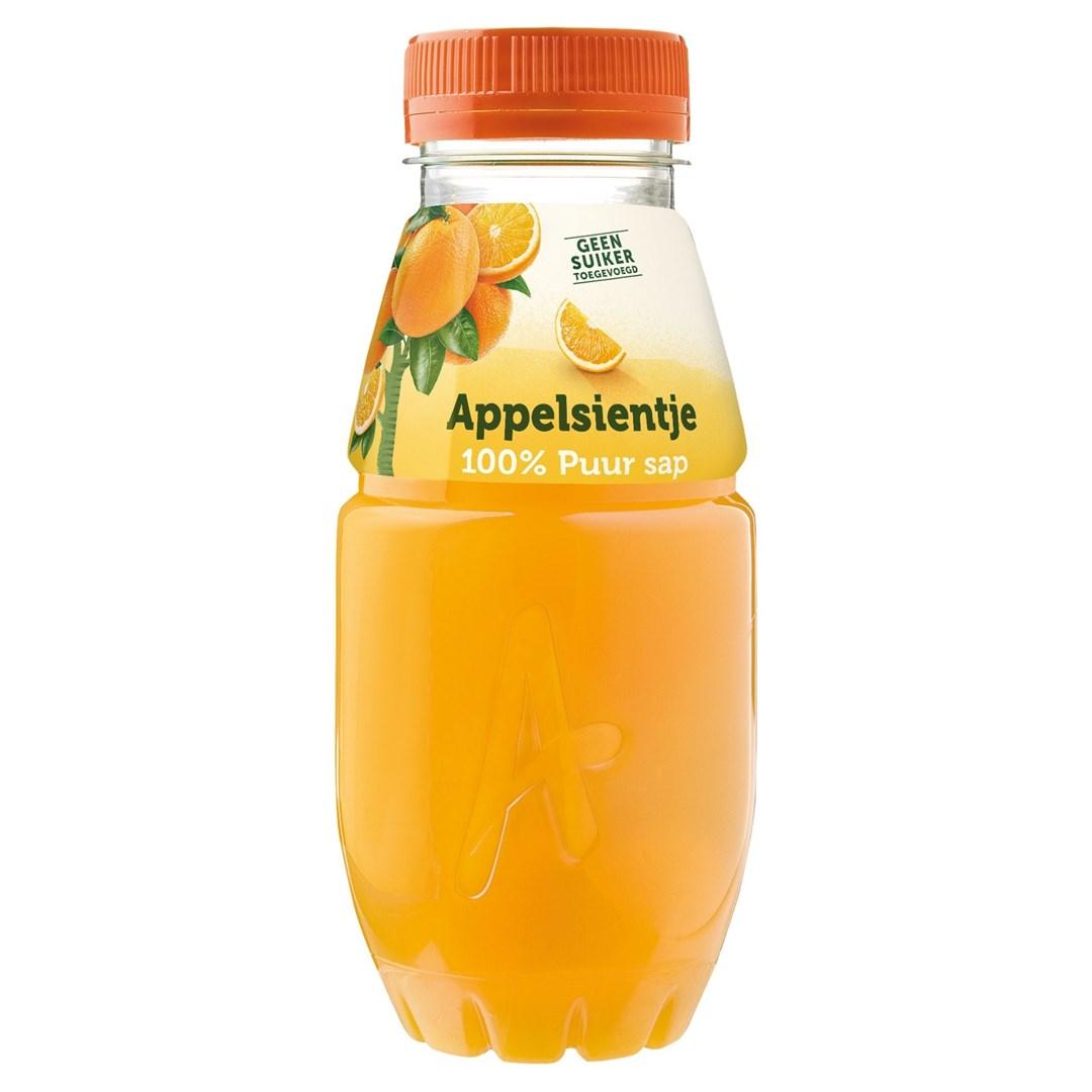 Productafbeelding Appelsientje vruchtensap sinaasappel 250 ml fles