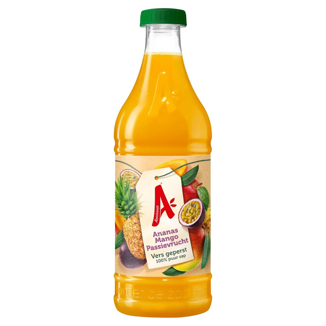Productafbeelding AS gekoeld sap Ananas Mango Passiev NFC 0,91 lt pet