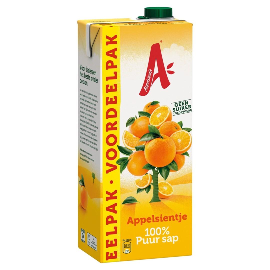 Productafbeelding Appelsientje vruchtensap sinaasappel voordeelpak 1,5 lt pak