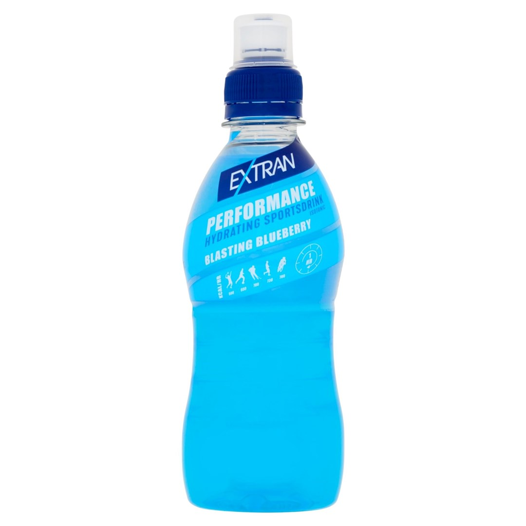 Productafbeelding Extran Performance Blueberry 330 ml fles