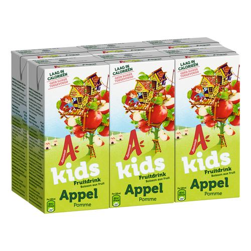 Productafbeelding Appelsientje vruchtensap kids appel 6 x 200 ml multi-pack