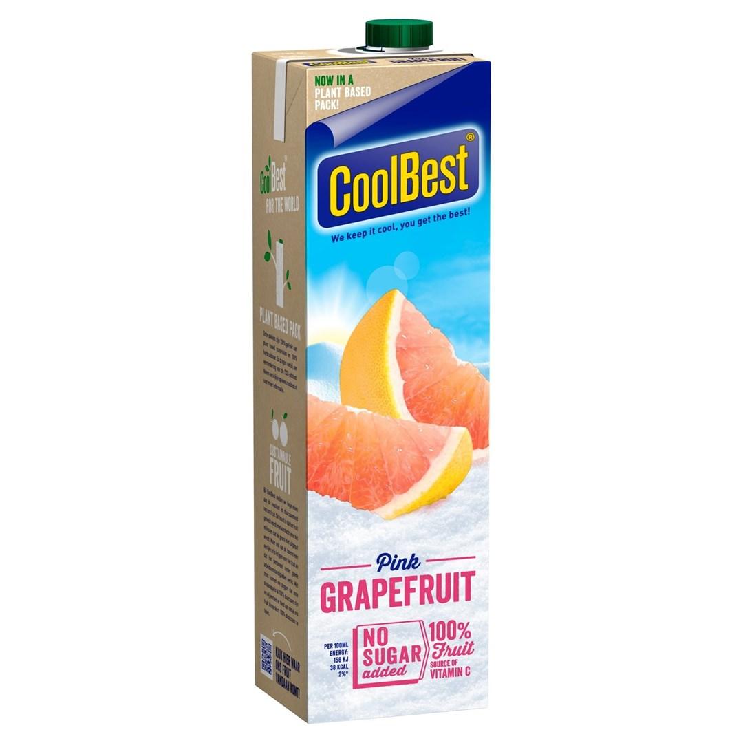 Productafbeelding Coolbest Pink Grapefruit 1 lt pak