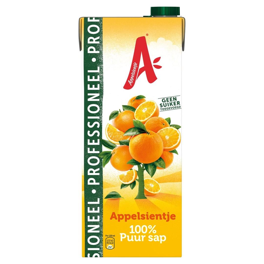 Productafbeelding Appelsientje vruchtensap sinaasappel professioneel 1,5 lt pak