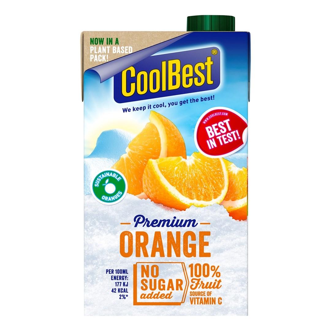 Productafbeelding Coolbest Premium Orange 500 ml pak