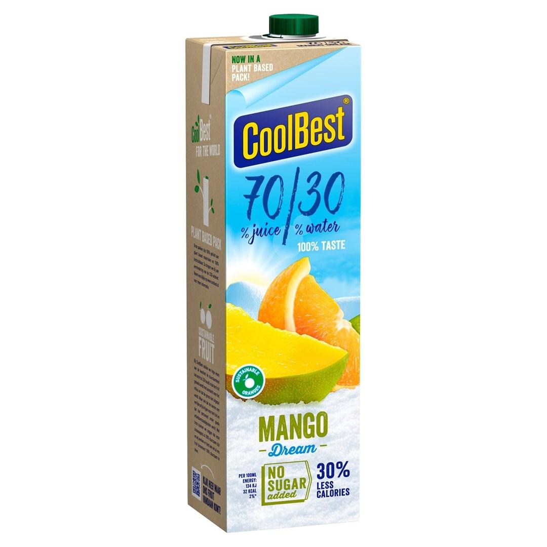 Productafbeelding Coolbest Mango Dream 70/30 1 lt pak