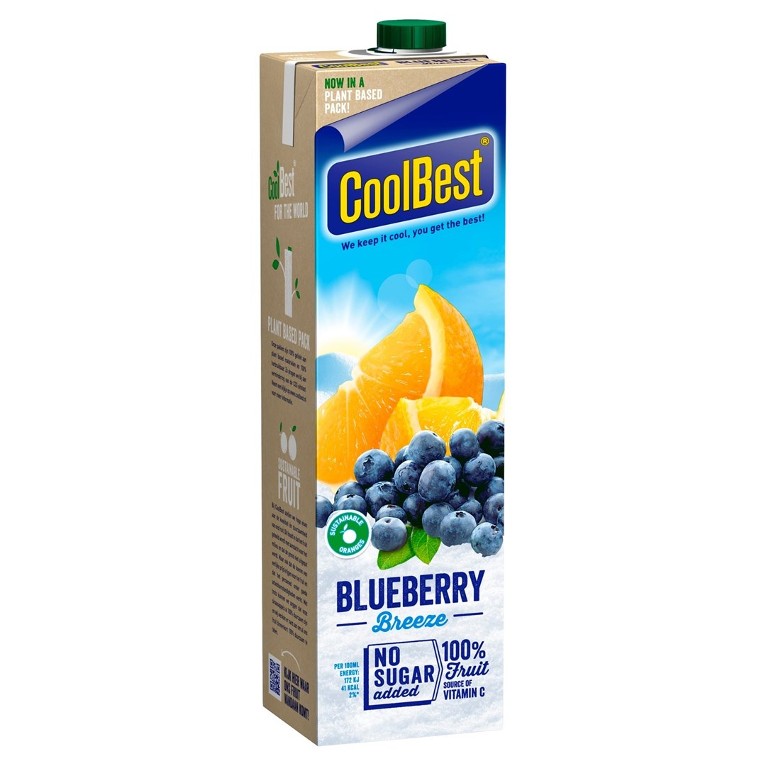Productafbeelding Coolbest Blueberry Breeze 1 lt pak