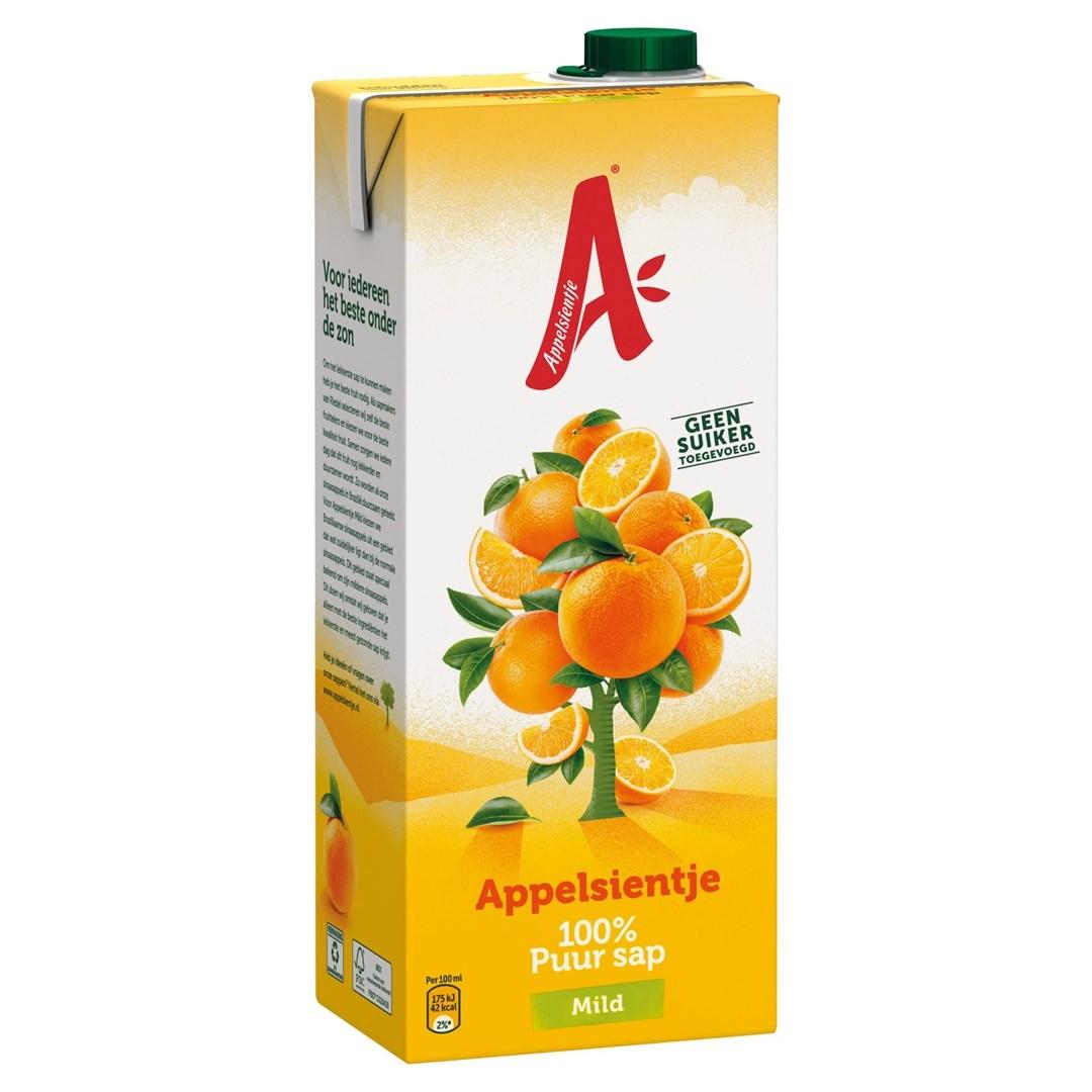 Productafbeelding Appelsientje vruchtensap sinaasappel mild 1,5 lt pak