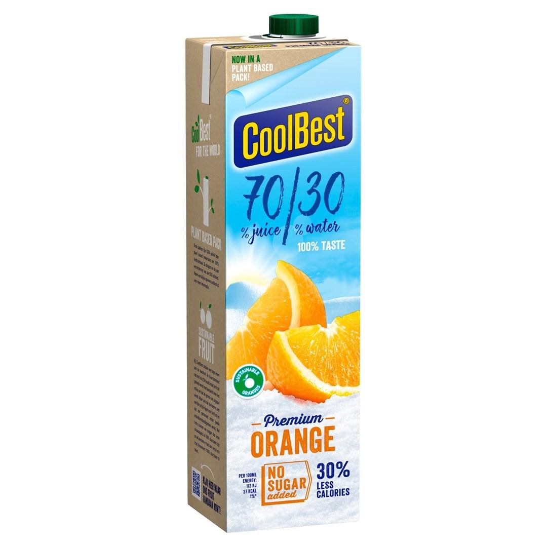 Productafbeelding Coolbest Premium Orange 70/30 1 lt pak