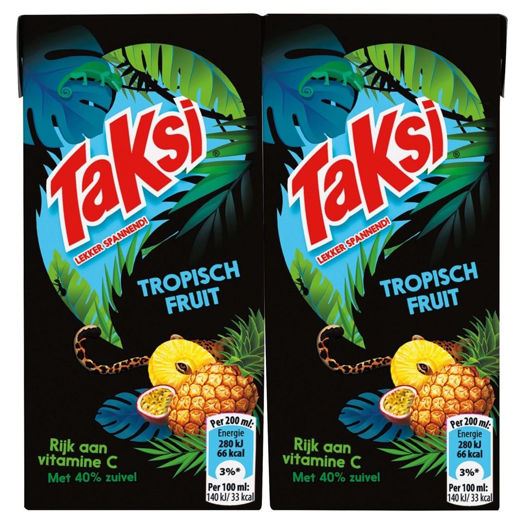 Productafbeelding Taksi vruchtendrank tropisch fruit 10 x 200 ml multi-pack