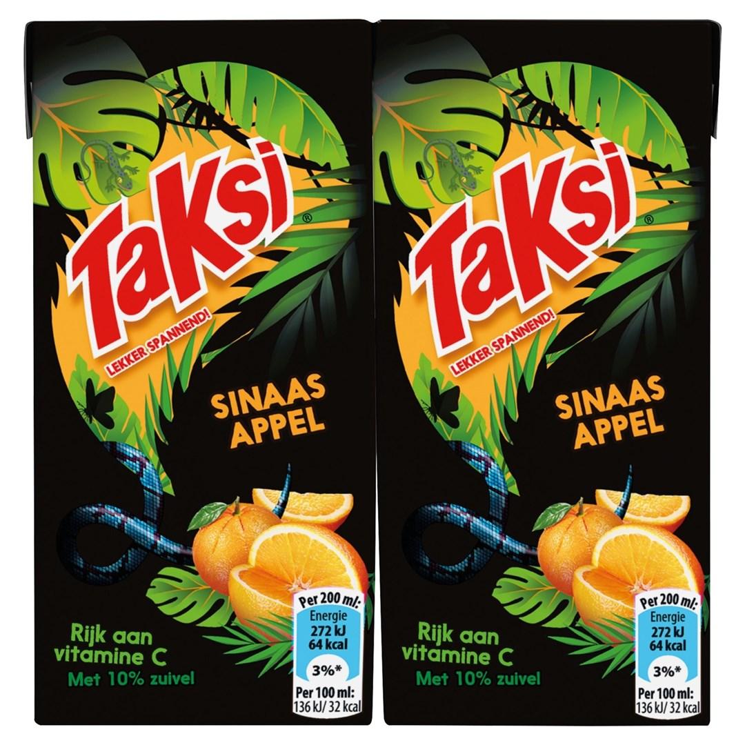 Productafbeelding Taksi vruchtendrank sinaasappel 10 x 200 ml multi-pack