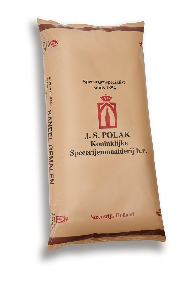 Productafbeelding Kaneel gemalen JSP 12,5 kg zak