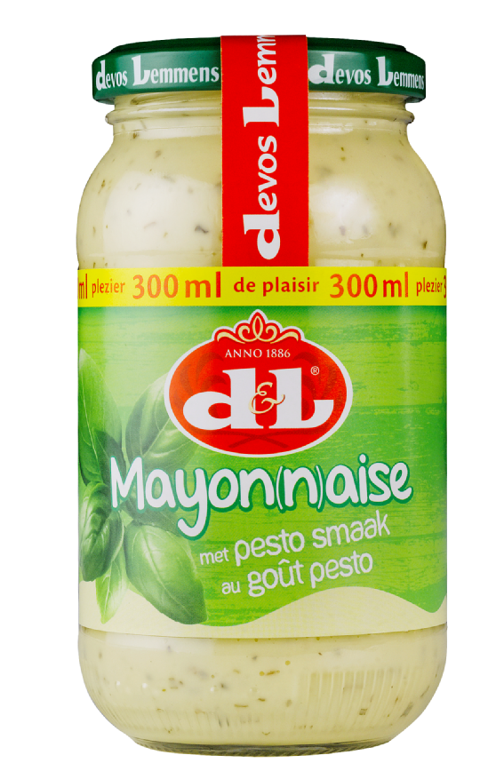 Productafbeelding D&L Mayonaise met Pesto Smaak 300 ml Bus
