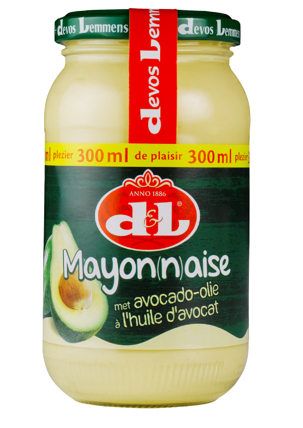 Productafbeelding D&L Mayonaise met Avocado-Oil 300 ml Bus