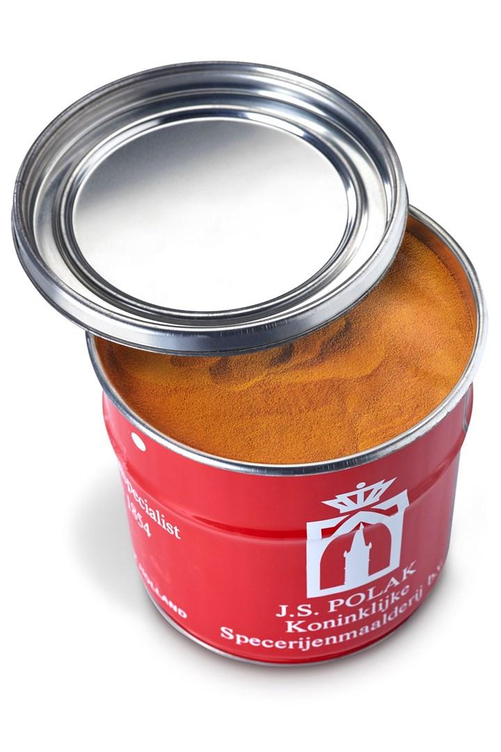 Productafbeelding Curcuma gemalen HT 1 kg blik