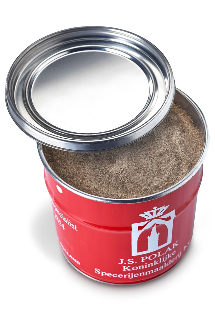 Productafbeelding Peper zwart gemalen 1 kg blik