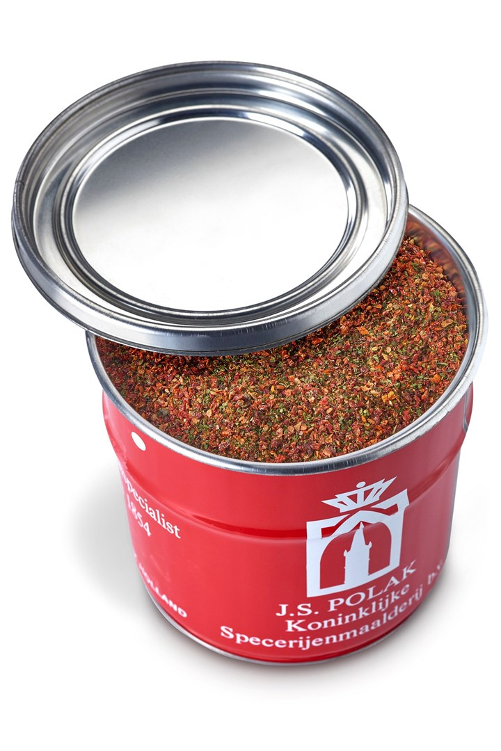 Productafbeelding Tomaat/Basilicum melange 1 kg blik