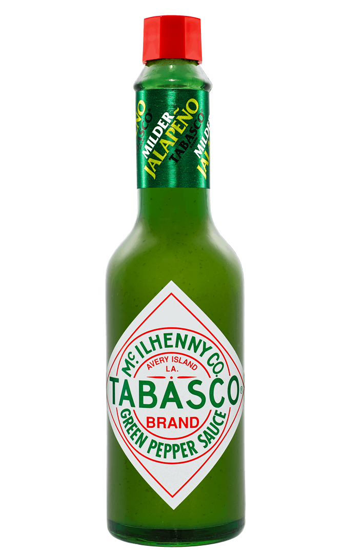 Productafbeelding Tabasco pepersaus groen 60ml doos
