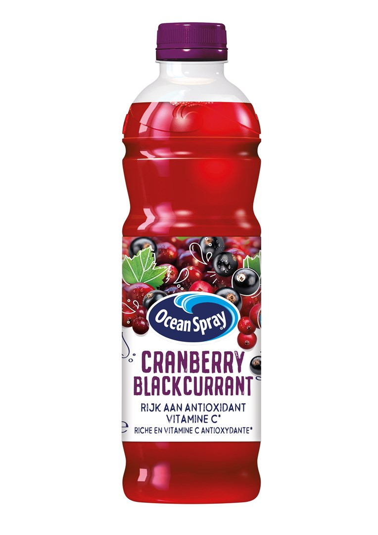 Productafbeelding Ocean Spray Vruchtendrank Cranberry Blackcurrant 1 l Fles