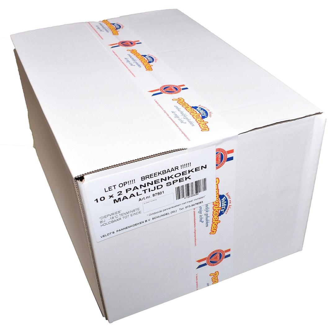 Productafbeelding Maaltijd Spek pannenkoek 20 cm 10 x 2 st.