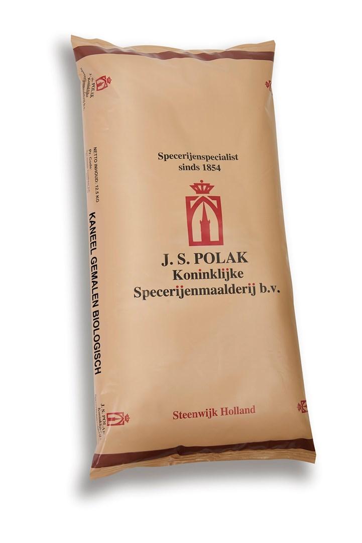 Productafbeelding Kaneel gemalen biologisch 12,5 kg zak