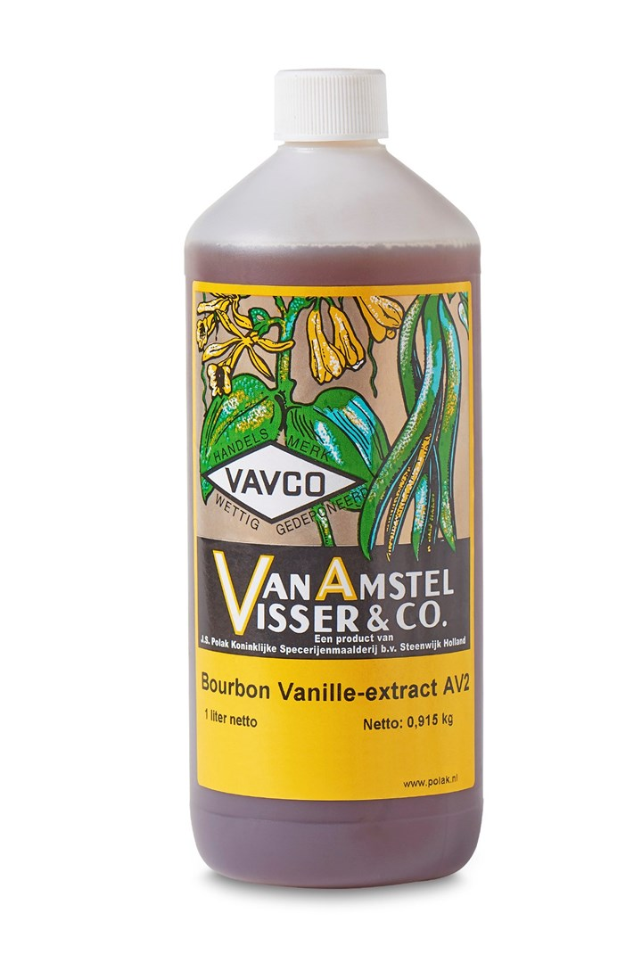 Productafbeelding Bourbon Vanille-extract AV2 1 Ltr fles