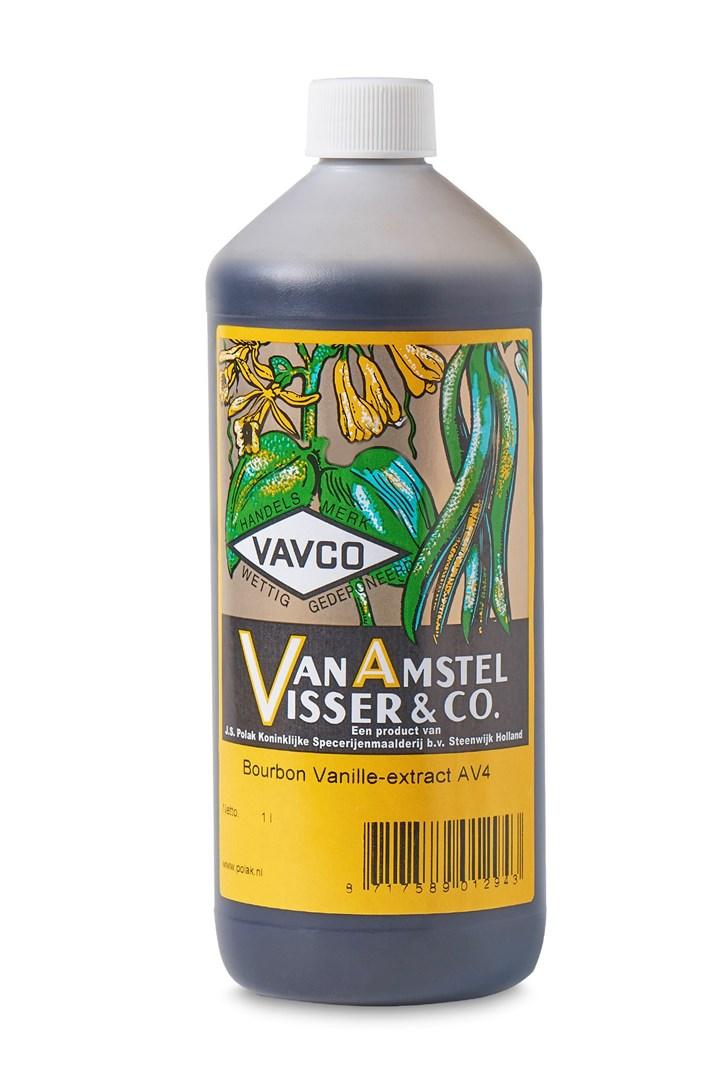 Productafbeelding Bourbon Vanille-extract AV4 1 Ltr fles