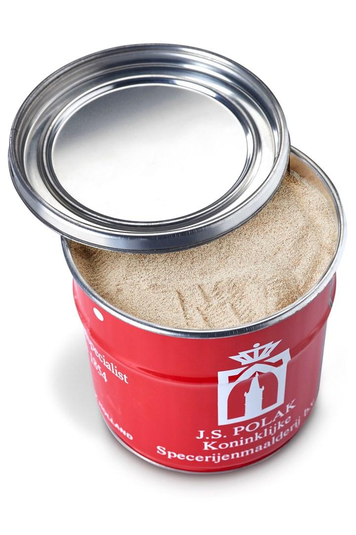 Productafbeelding Peper wit gemalen biologisch 1 kg blik