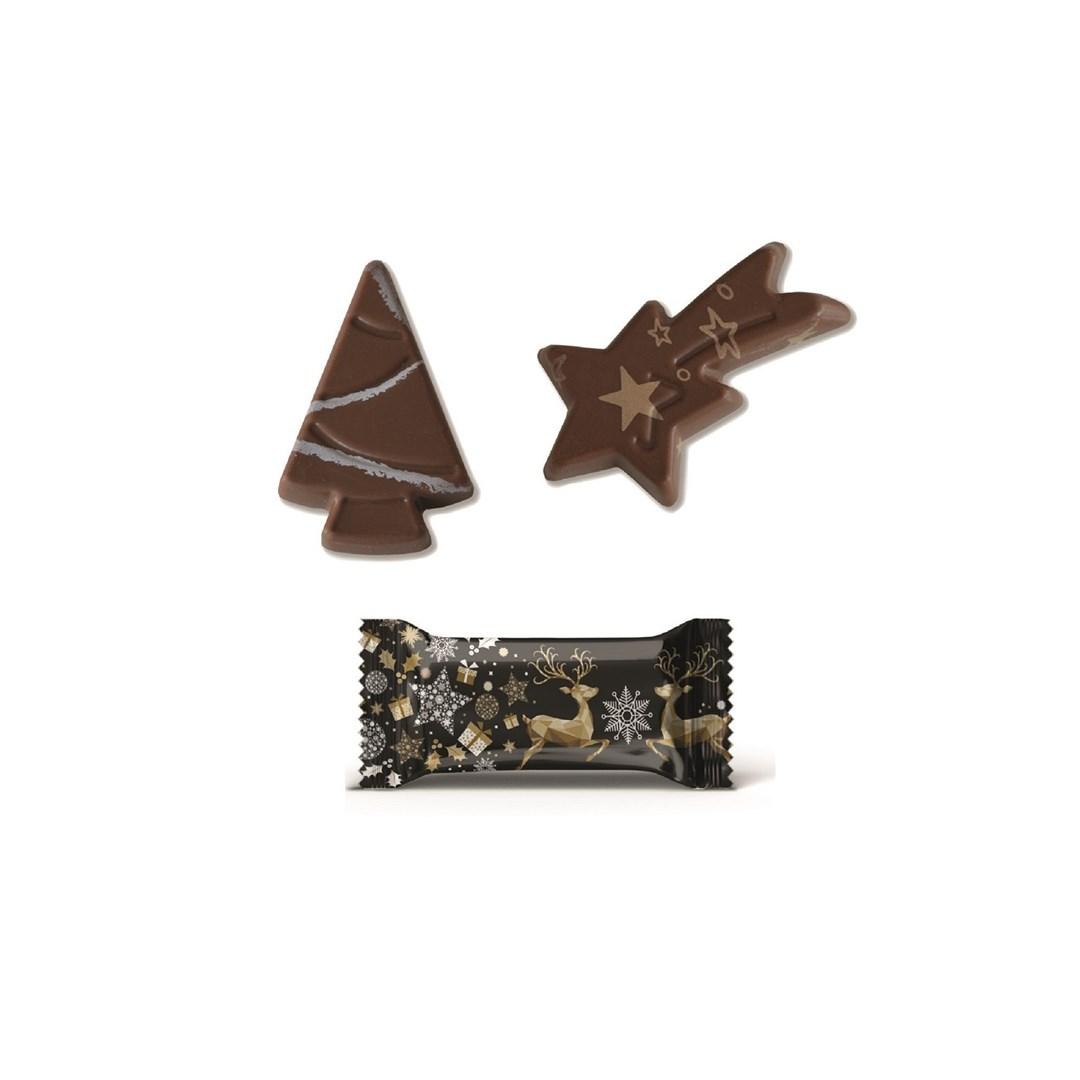 Productafbeelding Christmas melk chocolade 120x10g