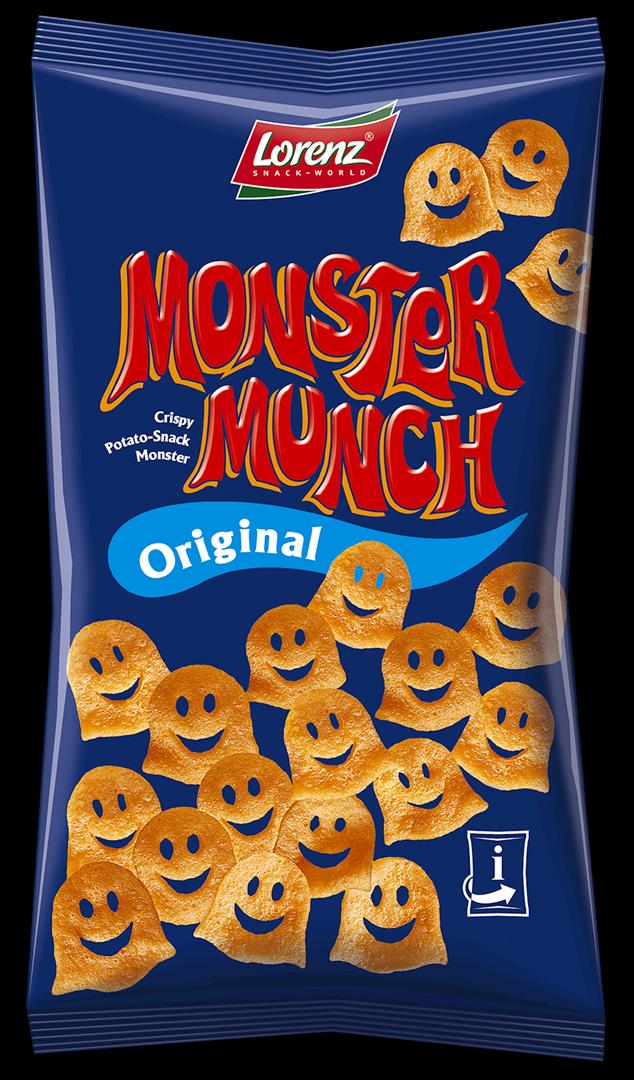Productafbeelding Lorenz monster munch chips original 75g zak