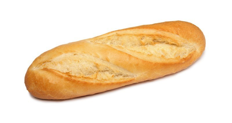 Productafbeelding O22 Halve baguette wit 115g