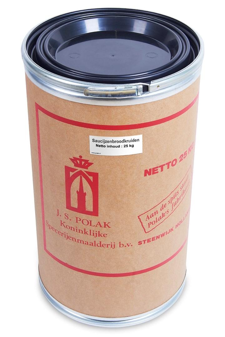 Productafbeelding Saucijzenbroodkruiden 25 kg vat