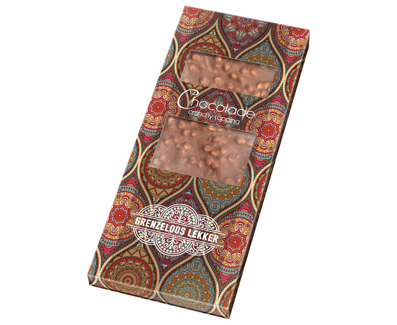 Productafbeelding Chocoladereep Grenzeloos lekker 80g doos