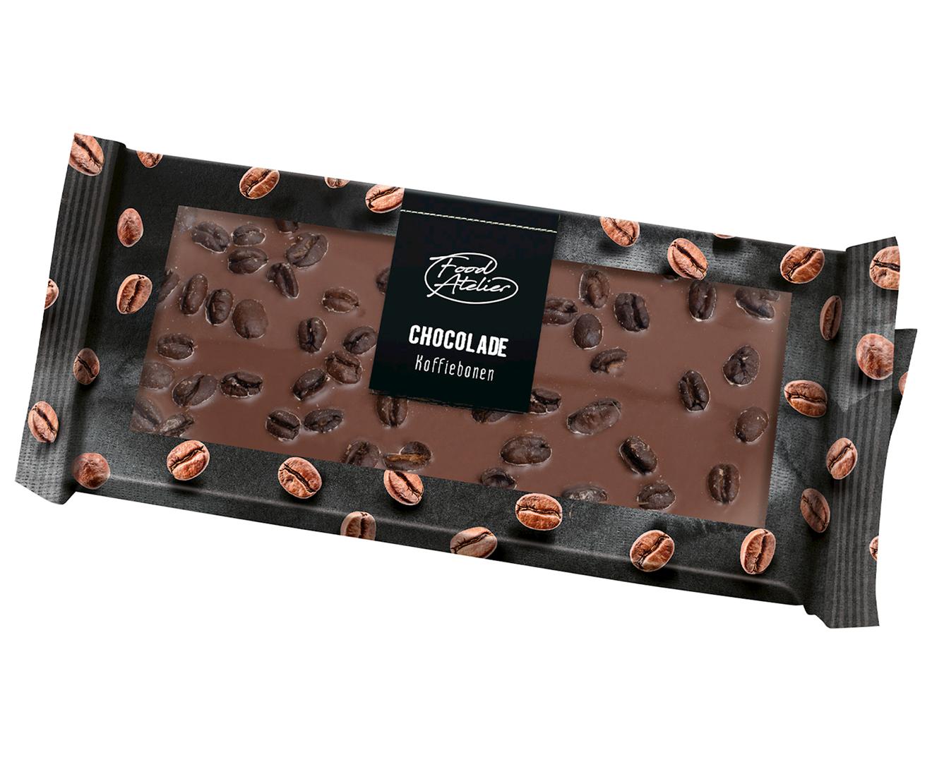 Productafbeelding Chocoladereep Food atelier 95g wikkel