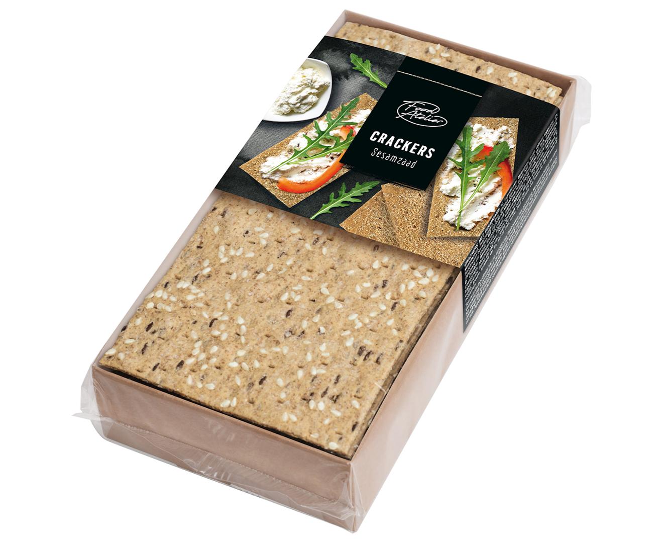 Productafbeelding Crackers Food atelier 150g bakje
