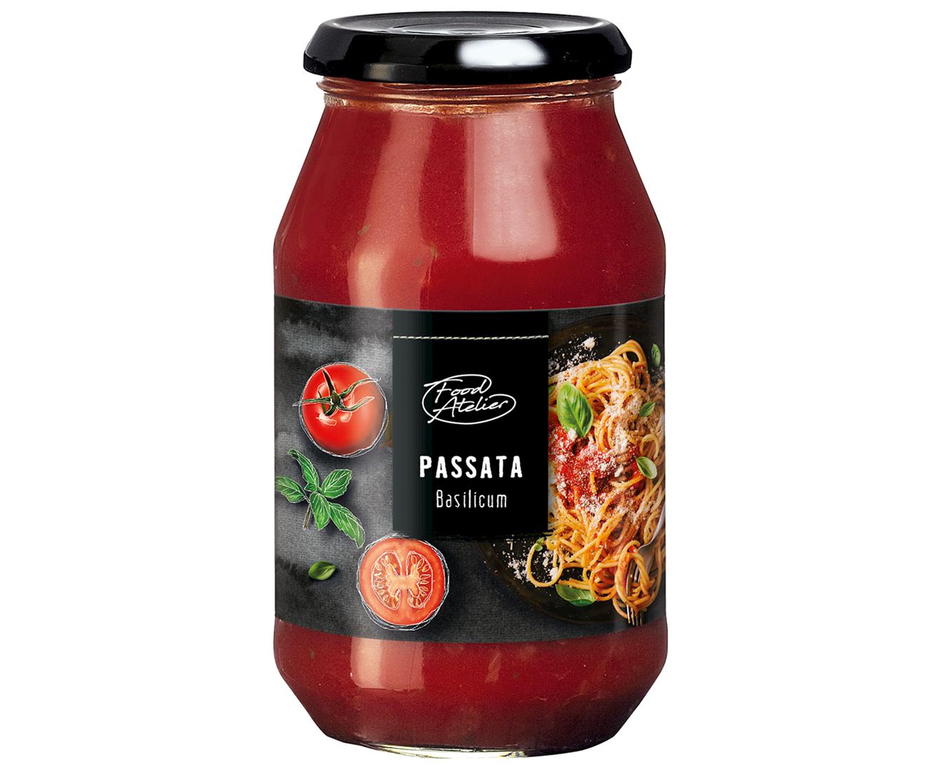 Productafbeelding Pastasaus Food atelier 520g pot