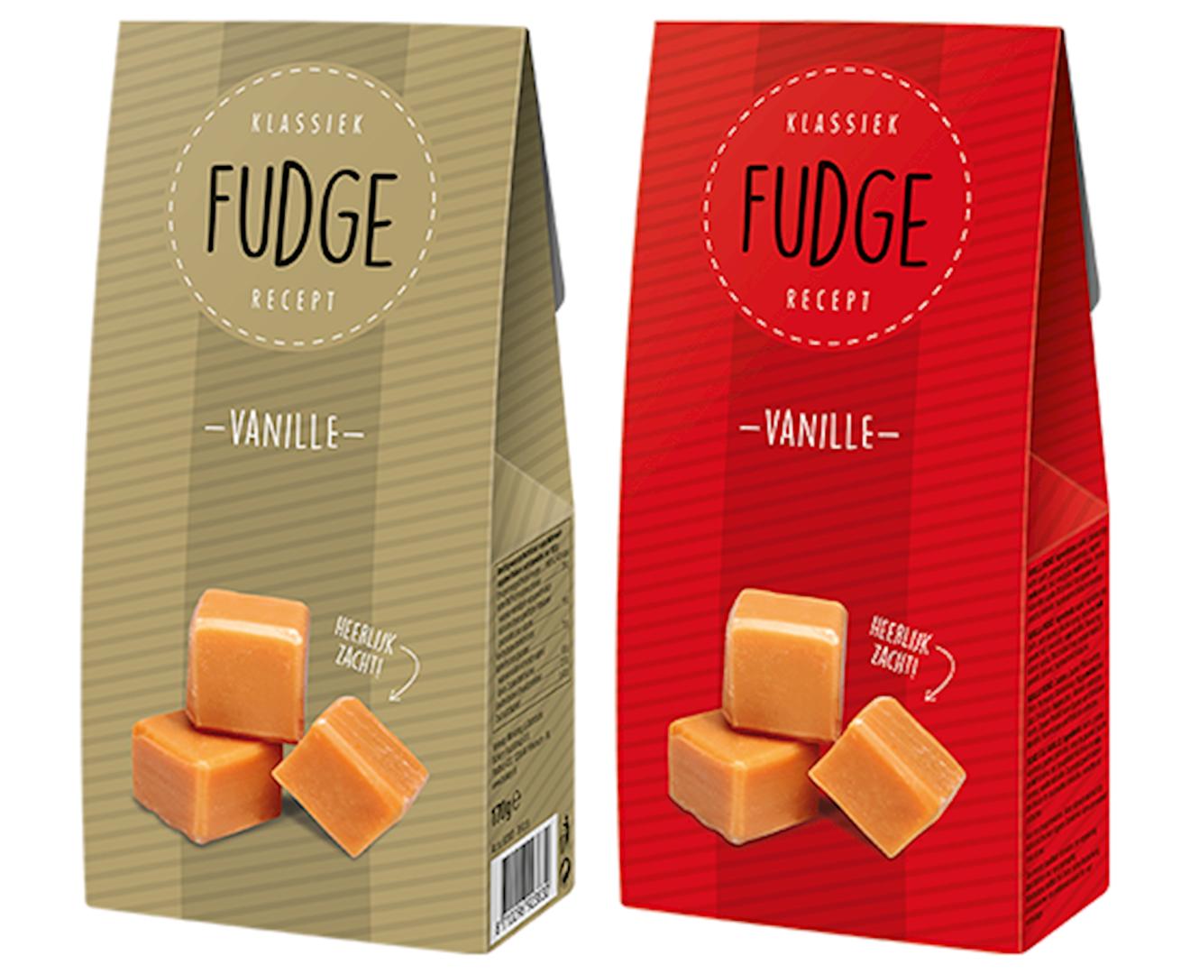 Productafbeelding Fudge Rood/Goud 170g doos