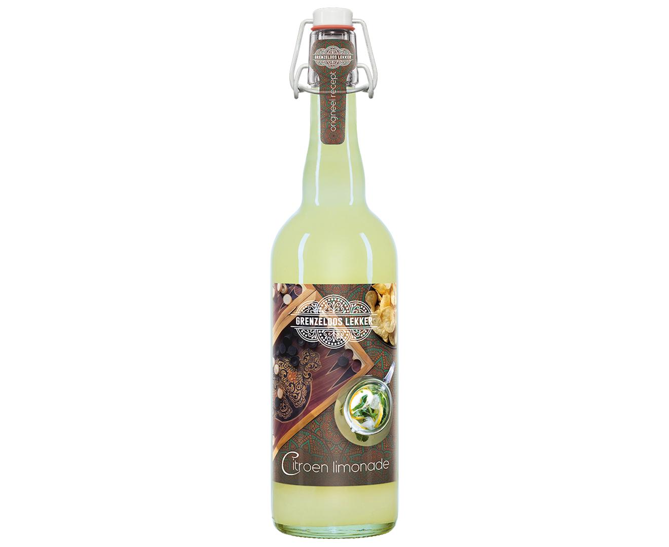 Productafbeelding Limonade Grenzeloos lekker 750ml fles